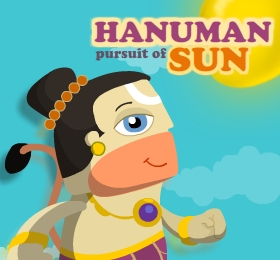HANUMAN PURSUIT OF SUN